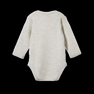 Merino Pointelle Long Sleeve Bodysuit