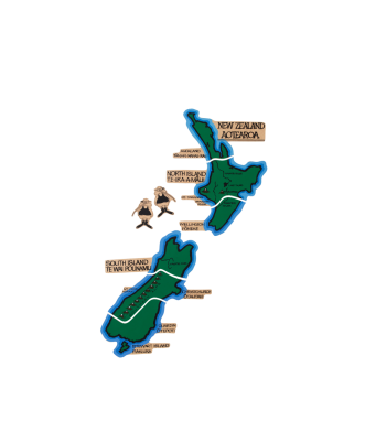 NZ Magnetic Map