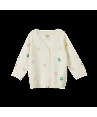 Light Cotton Knit Cardigan