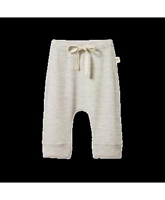Merino Pointelle Drawstring Pants