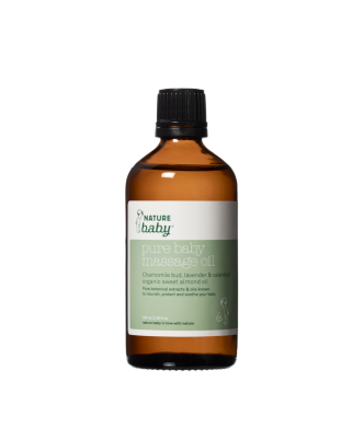 Pure Baby Massage Oil 100ml