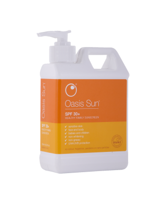 Oasis SPF30+ Sunscreen 500ml Pump